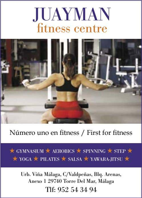 ������� �������������� Número uno en fitness / First for fitness ★