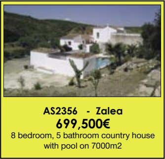 AS2356 - Zalea 699,500€ 8 bedroom, 5 bathroom country house with pool on 7000m2