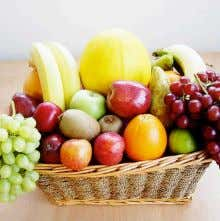 vege- tables or vegetable juice to constitute one serving. 1 serving of fruits is equal to