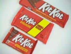 Now, you can get yourself a 12.6 ounce Double Whooper The original 1.5 ounce Kit Kat,