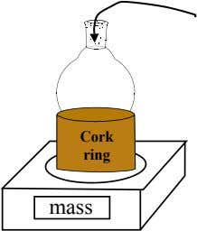 Cork ring mass