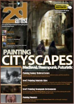 ConceptArt,Digital&MattePaintingMagazine Issue051March2010 Interview Articles Sketchbook of The Gallery David