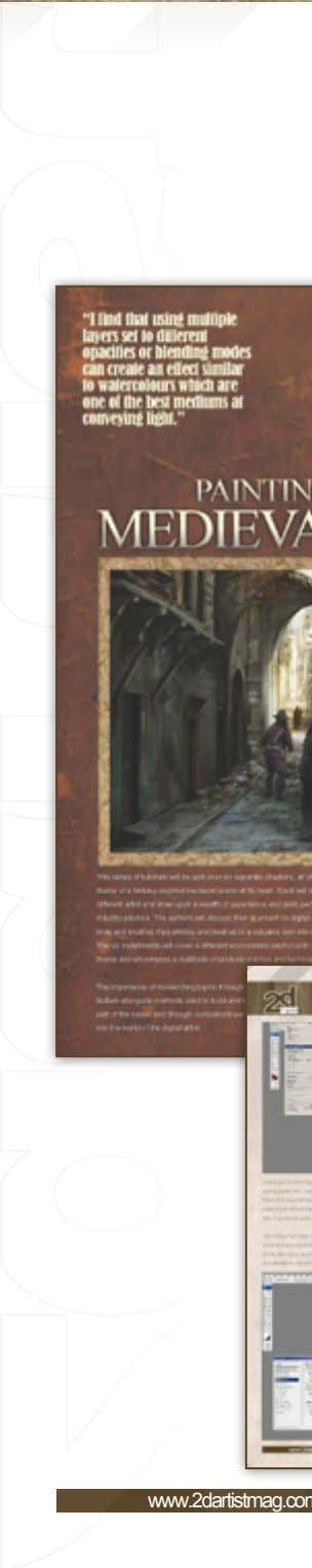 Free Lite Issue of to purchase the Full Issue click here 7 PaintingFantasy MedievalScenes www.2dartistmag.com page