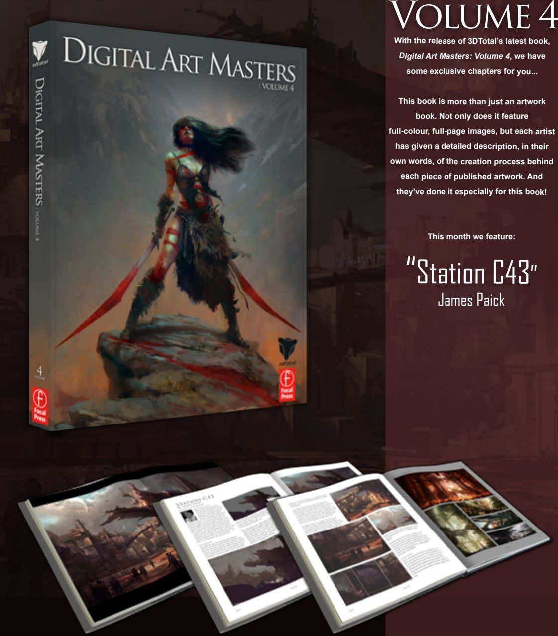 With the release of 3DTotal's latest book, Digital Art Masters: Volume 4, we have some