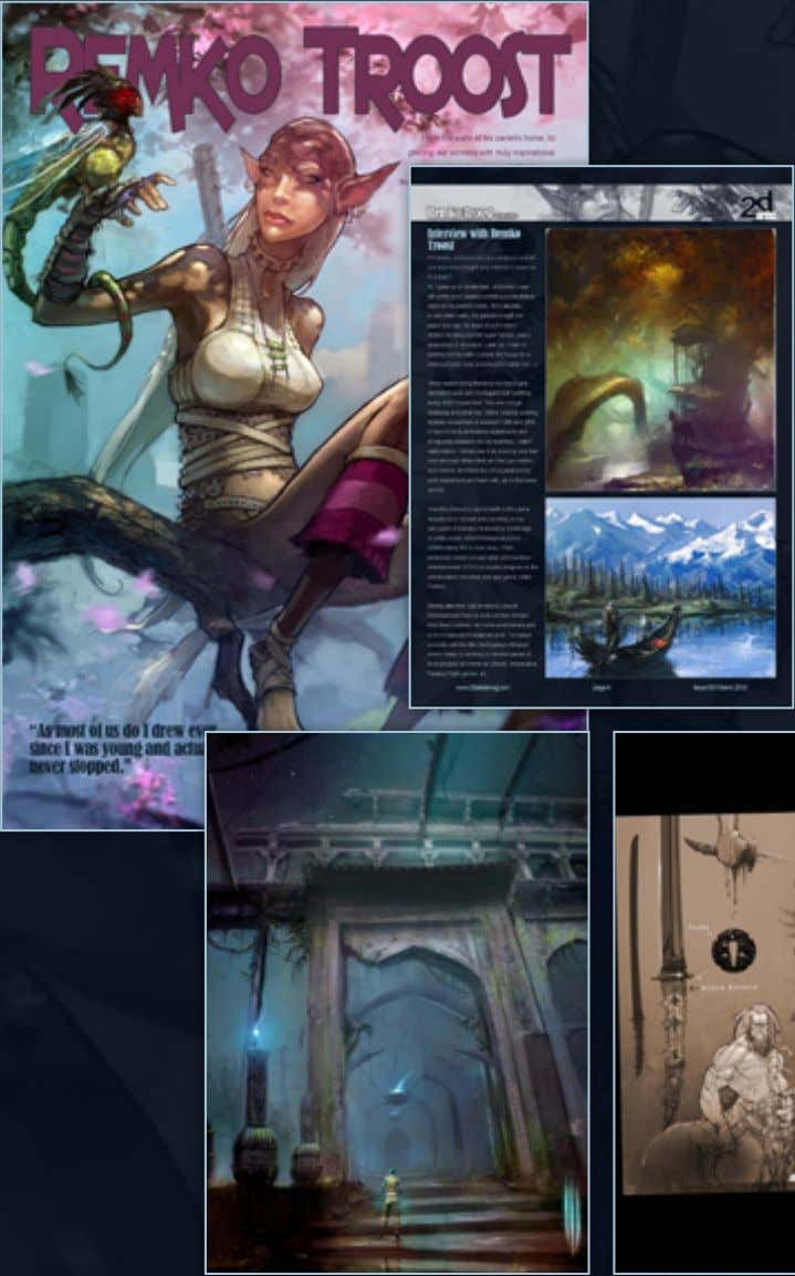 reading this interview in the FULL ISSUE of the 2DArtist Magazine 15 www.2dartistmag.com page 10 Issue