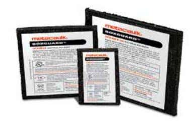 cable codes. U.S. Patent No. 6,207,085 & 6,252,167. Applications Use Metacaulk® BOX GUARD™on inside back