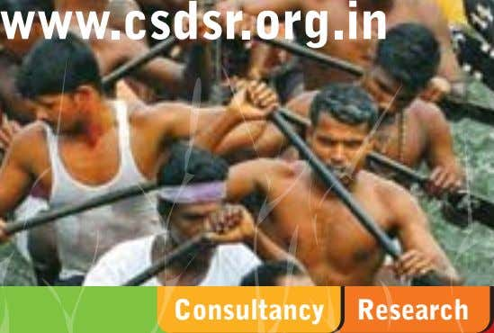www.csdsr.org.in Consultancy Research