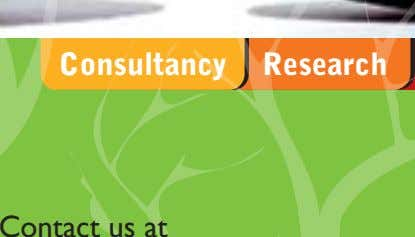 Consultancy Research Contact us at