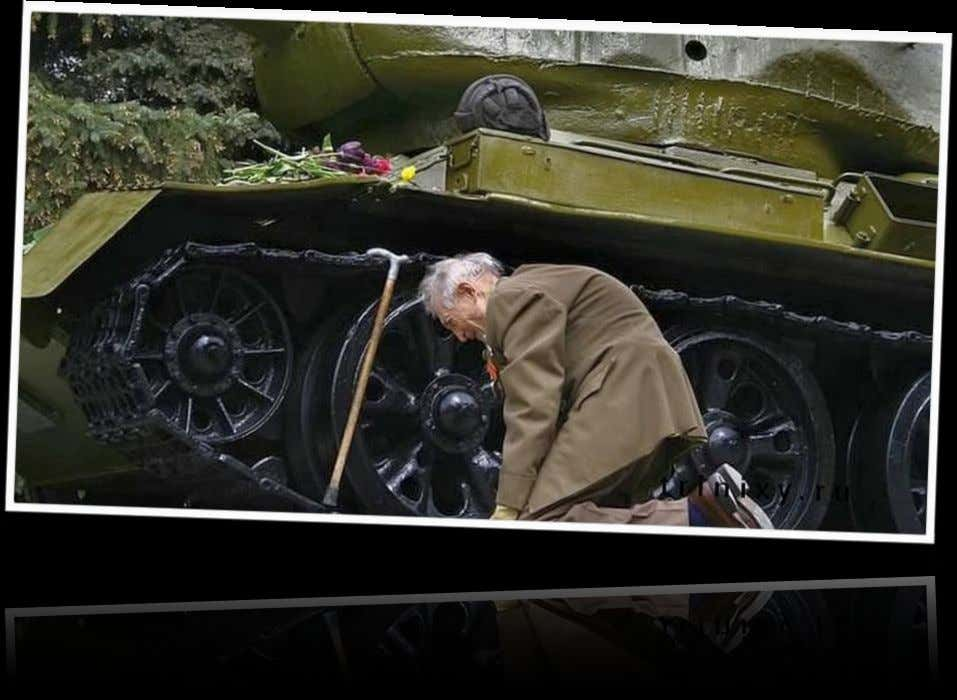 "10.""RUSSIAN WAR VETERAN Story behind it: an old WW2 Russian tank army veteran has finally found"