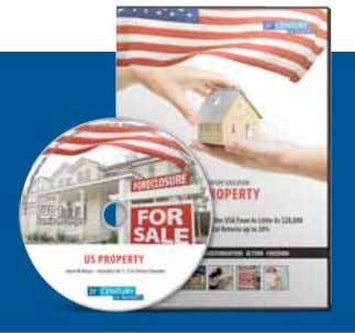 call 1800 999 270 or visit www.21stCenturyUSProperty.com Free US Property Education for Property Inc. Readers! For