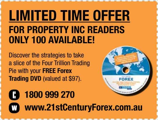 LIMITED TIME OFFER FOR PROPERTY INC READERS ONLY 100 AVAILABLE! Discover the strategies to take