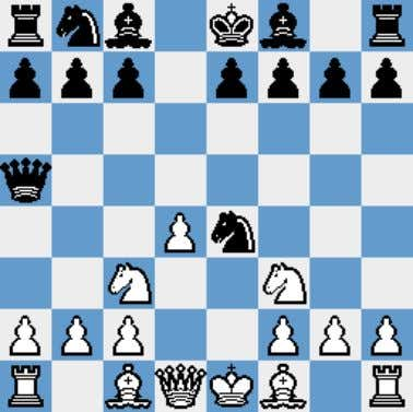 as a complete shock to most players and is much better than it looks. 1.e4 d5