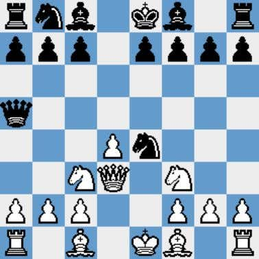 recent Olympiad, where Sulskis wins effortlessly. 6.Qd3!? A move which has been very popular, without giving