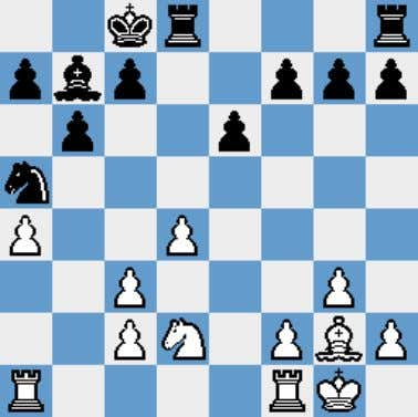 16.Kxg2 Ke7 wasn't bad either. We have reached another one of those positions where White