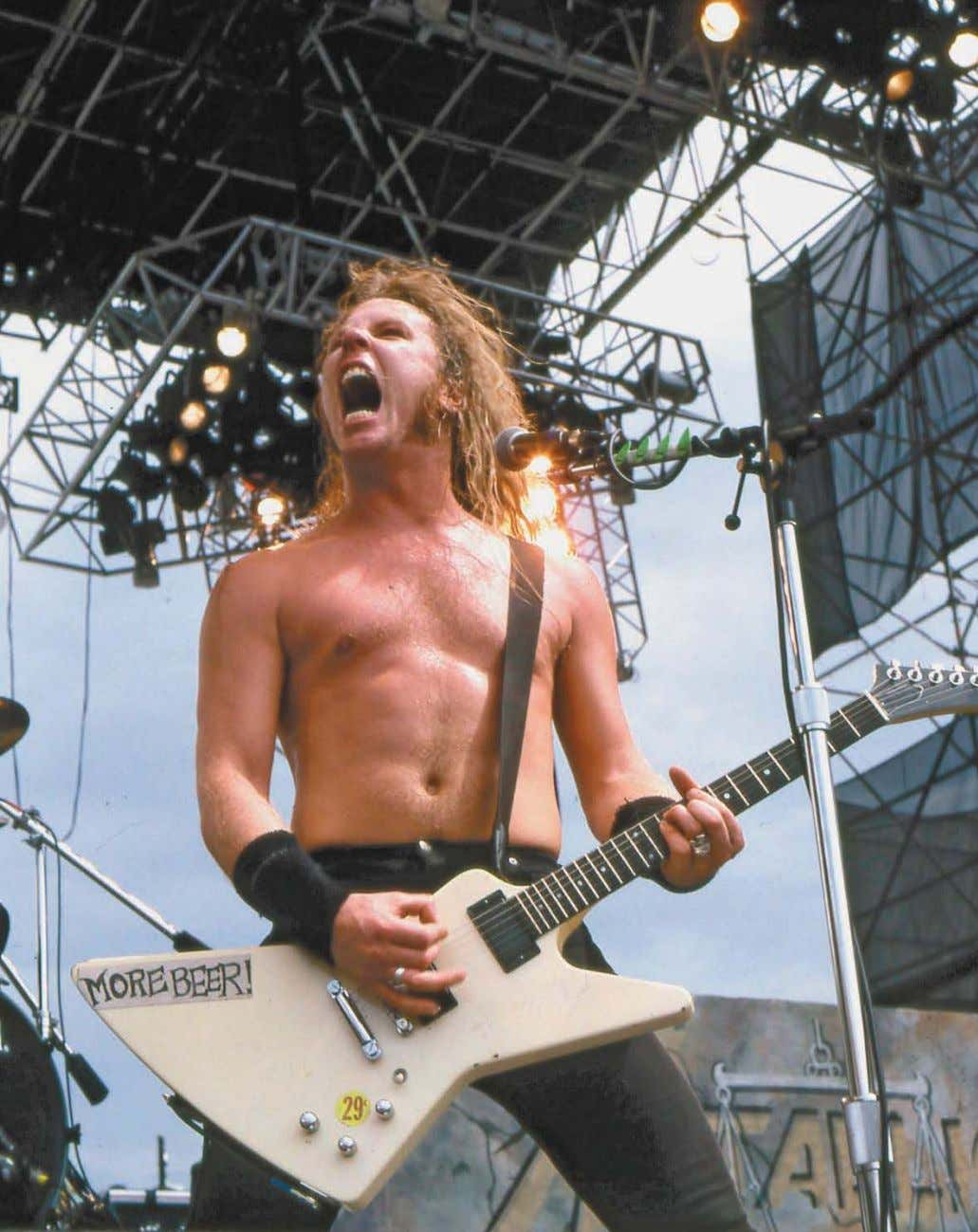 unchain your brain 79 Monsters of Rock, Cotton Bowl, Dallas, Texas, July 3, 1988. Frank White