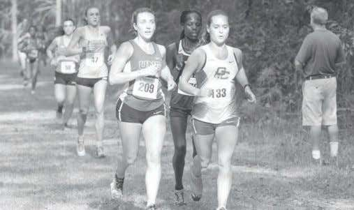 Editor Women's cross-country wins numerous awards Courtesy of GC Communications Grace Lynch (left) and