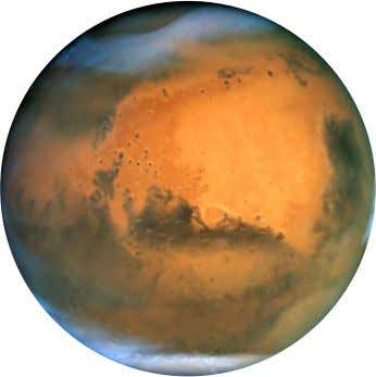 Mars Mars is the fourth planet from the Sun It is known as the red