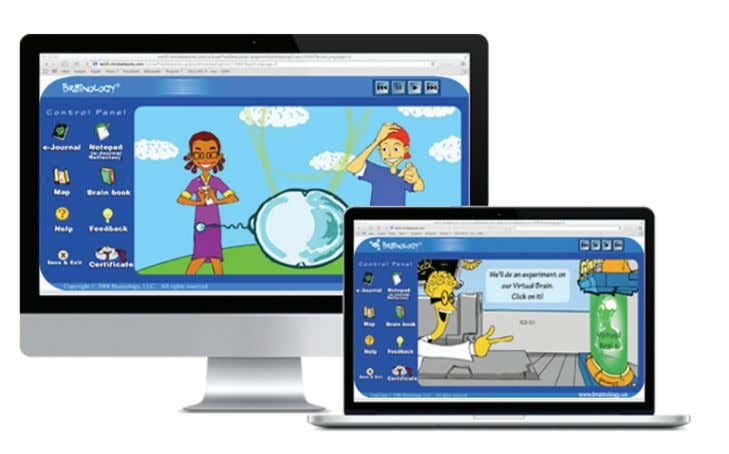 parents and educators with a better approach to learning. Brainology ® is a fun, interactive, award-winning,
