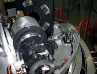 camera onto a single Table 3. Spectrograph bandpasses. Figure 6. The first KMOS spectrograph mounted on