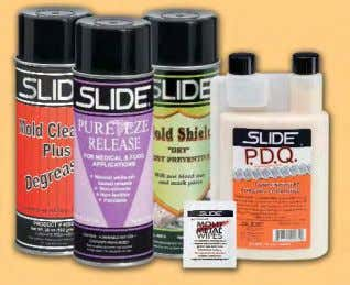 Mold Shield, Pure Eze, PDQ and Mold & Metal Wipes Mold and Tool Builders Free Sample
