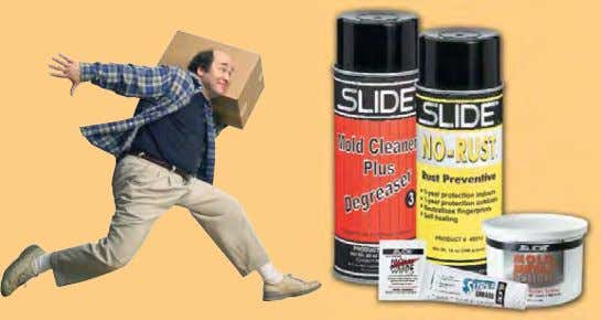 Mold and Tool Builders Free Sample Kit Mold Cleaner Plus Degreaser, Super Grease, Mold & Metal