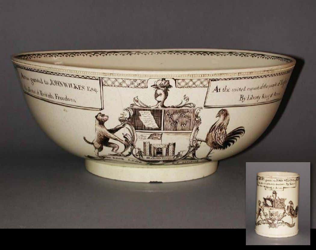 English Tin Glazed Earthenware Punch Bowl 18th Century (Winterthur)