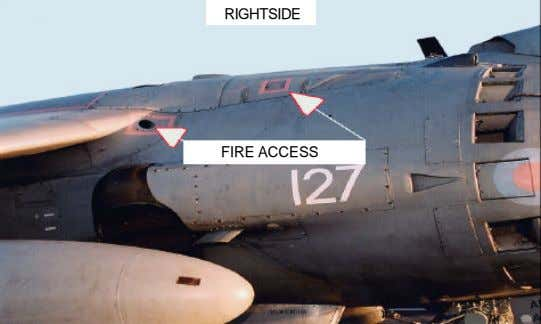 RIGHTSIDE FIRE ACCESS