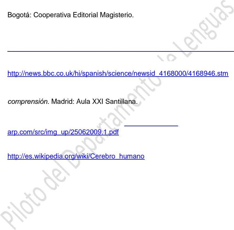 Bogotá: Cooperativa Editorial Magisterio. http://news.bbc.co.uk/hi/spanish/science/newsid_4168000/4168946.stm