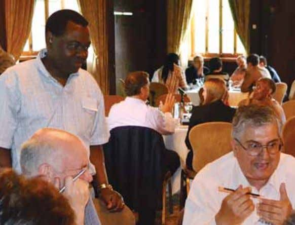 INAU g URAL ICAO COUNCIL REt REAt ICAO Council President Olumuyiwa Benard Aliu consults with one