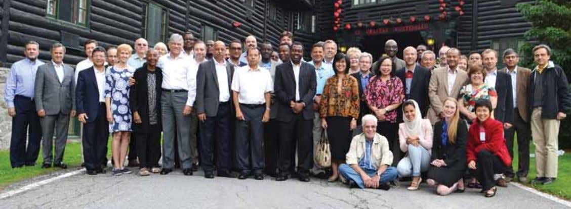 INAU g URAL ICAO COUNCIL REt REAt Assembled participants from the 2014 ICAO Council Retreat. The