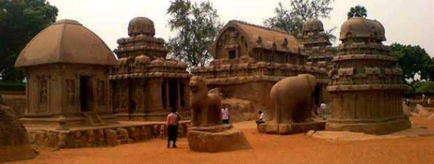 port city of the South Indian dynasty of the Pallavas around 60 km south from the