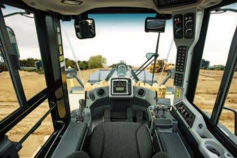 help create a safe working environment. Convex Windshield The front glass panel has been changed from