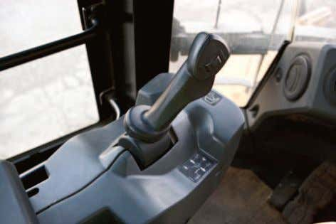 (EH) Joystick Steering with Force Feedback (Speed Sensitive) The industry leading EH joystick steering system combines