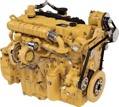 emissions equipment, and electronic fuel priming. Engine The new Cat C9.3 ACERT engine was designed to