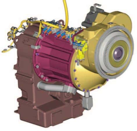 reducing drag and increasing efficiency. Transmission Transmissions on the K Series are planetary power shift,
