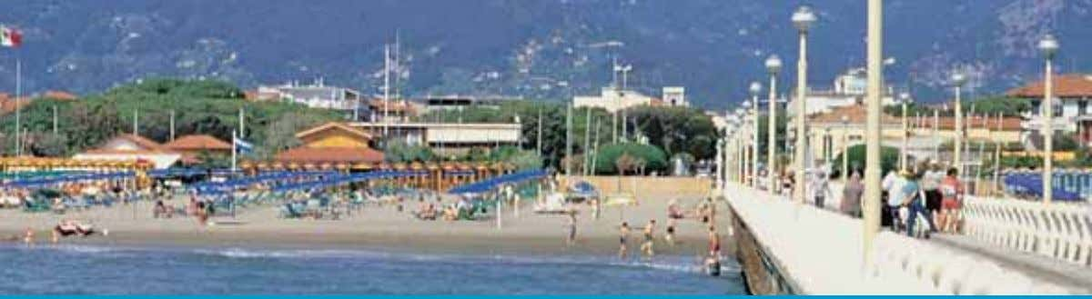 these animals can be observed in their natural habitat. T H E SE A Versilia,boasts