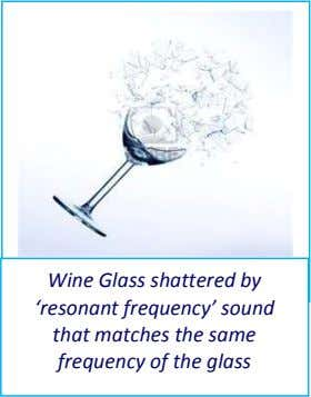 Wine Glass shattered by 'resonant frequency' sound that matches the same frequency of the glass