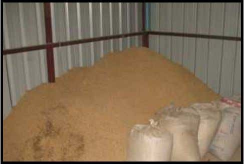 There should be enough rice husks for one week operation. Figure 4 . 24 Rice husk