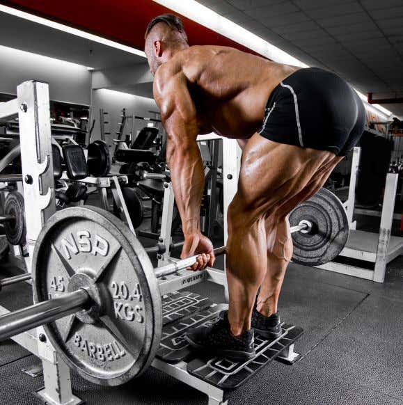 TRICKS OF THE TRADE EXERCISE GUIDE: STIFF LEG DEADLIFTS Stiff leg deadlifts are a bread- and-butter