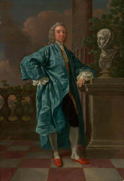 Dr. Charles Chauncey M.D. by Francis Hayman c. 1747 (Yale Center for British Art)