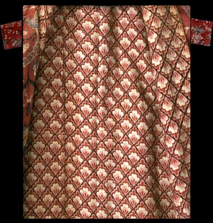 Banyan of Indian Cloth Lined with European Calico c. 1750 - 1775 (Victoria & Albert)
