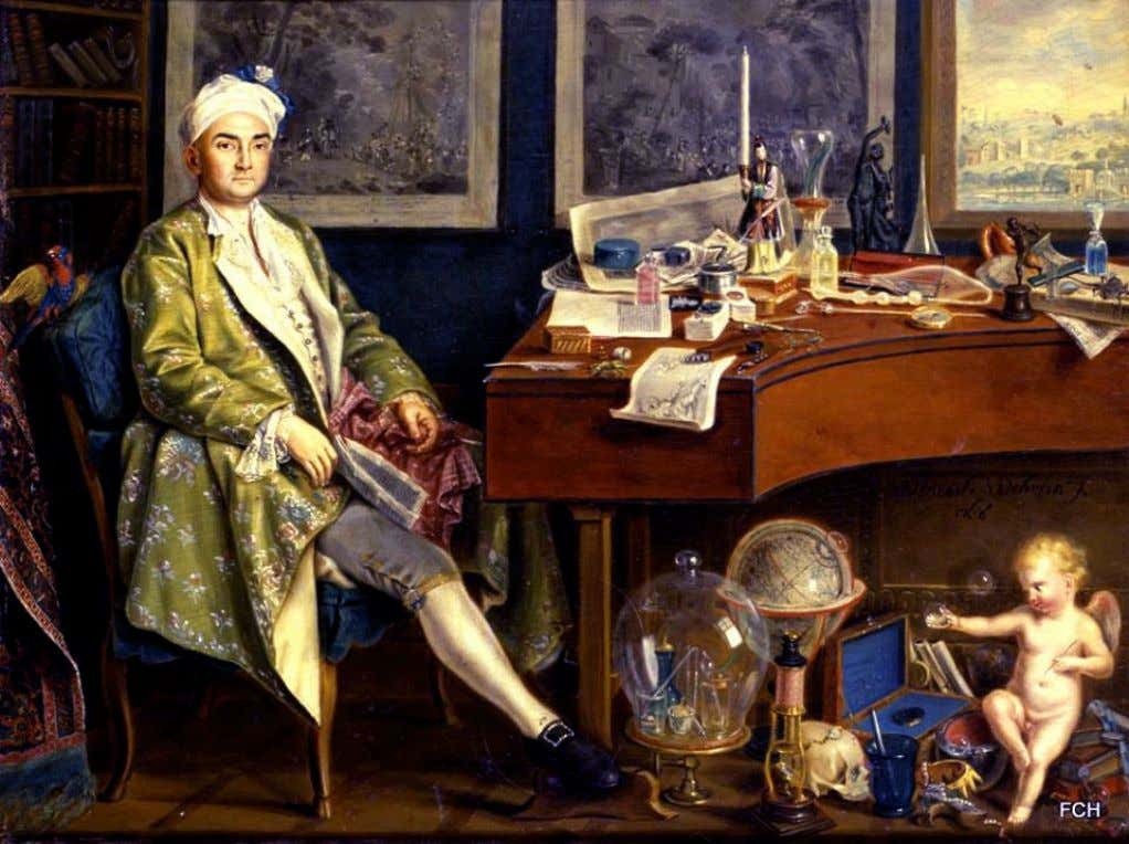 A Collector in his Study by Wenzel Wehrlin c. Mid 18th Century ( Wimpole Hal