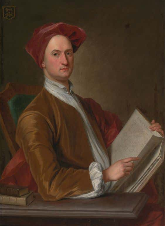 Sir John Rushout by John Smibert (English, Active in America) c. 1726 (Yale Center for