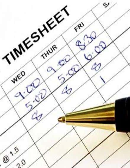 Internal Controls over Payroll Processes Time Entry • Approve hours worked and leave taken in a
