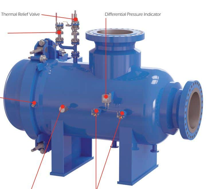Thermal Relief Valve Differential Pressure Indicator
