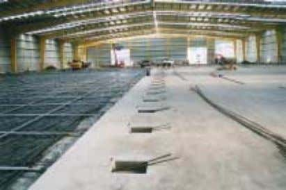 (Figure 14) • 4 slabs totalling 8,000 m 2 (July 2001) Figure 14 – Shed R