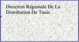 Direction Régionale De La Distribution De Tunis