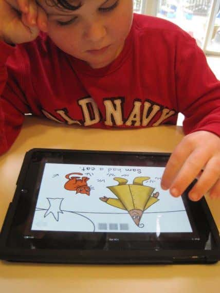Autism/iPad Synergy  Dynamic graphics motivate & engage visual learners  Voiceover lets pre-readers