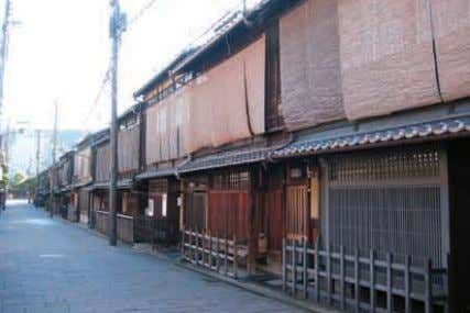 and other changes in these areas. Such Sanneizaka District Gion-Shimbashi District 65 The landscape of Kyoto