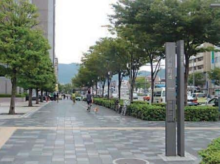 in the improvement of Kyoto's urban landscape. ■ Streets Oike Street ■Building ■Park Sakurai Park Sakyo